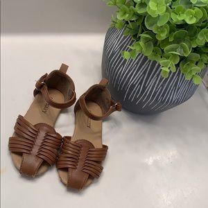 Old Navy Tan Huarache Velcro Sandals